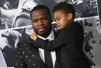 50 Cent's Son Sire Is Getting So Big: See New Balmain-Laced Photos