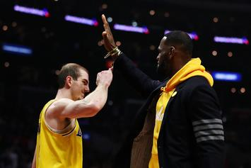 LeBron James Reacts To Alex Caruso's Electrifying Lakers Highlight Tape