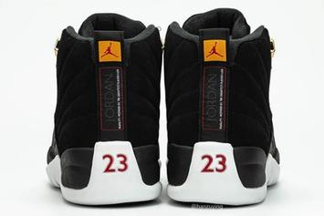 "Air Jordan 12 ""Reverse Taxi"" Rumored Release Date Revealed: Detailed Photos"