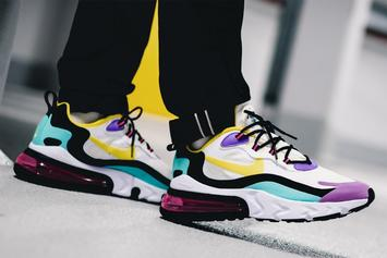"Nike Air Max 270 React ""Geometric Art"" Release Info Revealed: Detailed Look"
