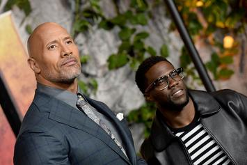 """Dwayne Johnson Shares Update On """"His Son"""" Kevin Hart After Car Accident"""
