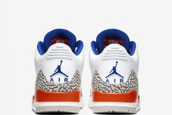 "Air Jordan 3 ""Knicks"" Official Photos Revealed: Release Info"