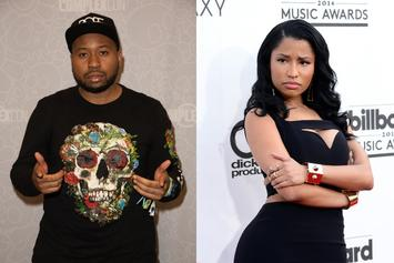 DJ Akademiks Continues To Troll Nicki Minaj & Her Fans With Latest IG Clip