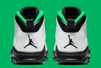 "Air Jordan 10 ""Seattle"" Rumored For Next Month: In-Hand Look"