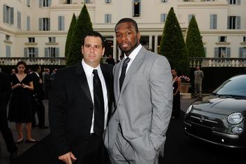 """50 Cent Continues To Torment Randall Emmett With Ruthless """"Men In Black"""" Meme"""