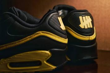 "Nike Air Max 90 x Undefeated ""Opti Yellow"" Colorway Revealed: First Look"