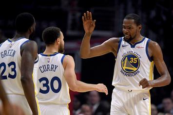 Kevin Durant & Warriors Have Unresolved Beef, Says Jalen Rose: Watch