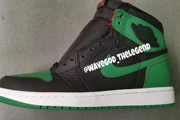 "Air Jordan 1 ""Pine Green"" To Debut Next Year: First Look"