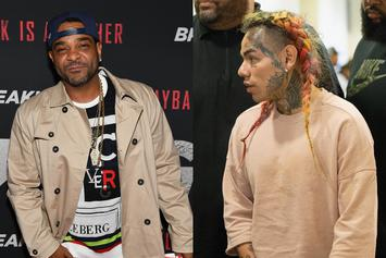 """Jim Jones Alleged Recording Calling For 6ix9ine To Be """"Violated"""" Leaks: Report"""
