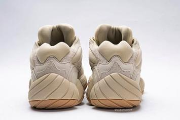 "Adidas Yeezy 500 ""Stone"" Coming Soon: Detailed On-Foot Photos"