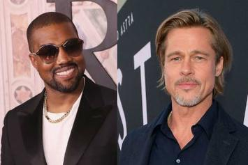 """Brad Pitt Praises Kanye West's Music: """"He Was One Of The First To Be Raw & Open"""""""