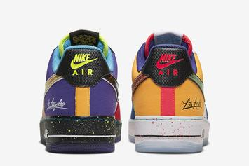 "Nike Air Force 1 Low ""What The LA"" Officially Unveiled: Detailed Look"