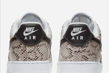 "Nike Air Force 1 Low ""Snakeskin"" Coming Soon: Official Images"