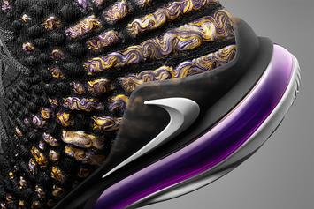 "Nike LeBron 17 ""Lakers"" Release Date Officially Revealed: Detailed Photos"