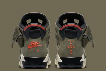Travis Scott x Air Jordan 6 Coming Soon, Glow In The Dark Details Revealed