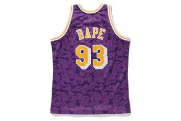 Bape Teams Up With Mitchell & Ness For NBA Jersey Collab: Release Details