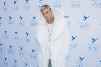 Aaron Carter Shows Off Recent Addition To Rihanna Face Tattoo
