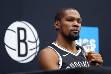 """Kevin Durant Lists Top 5 Rappers, Says Knicks Are Not The """"Cool Thing"""": Watch"""