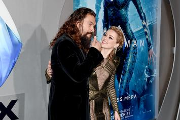 "Amber Heard Uses ""Aquaman"" Co-Star Jason Momoa To Challenge Instagram Nudity Guidelines"