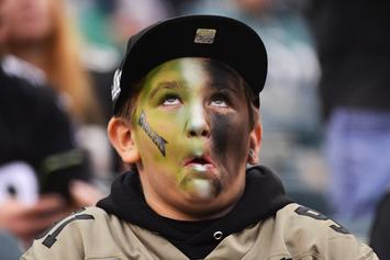 Eagles Fan & His Hat Team Up For One Of The Saddest Videos Ever: Watch