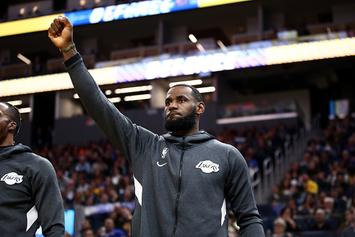 """LeBron James Readies For His """"Revenge Tour"""" With Bronny-Inspired IG Post"""