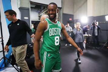 Kemba Walker Hypes Up Celtics Fans With Speech At Home Opener: Watch