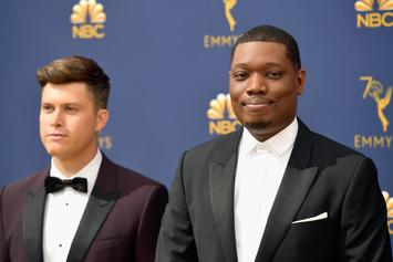 """Michael Che Roasts Kanye West & Compares Him To Caitlyn Jenner On """"SNL"""""""