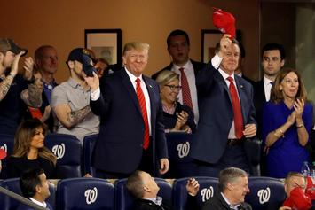 Donald Trump Met With Boos From Fans At Game 5 Of World Series