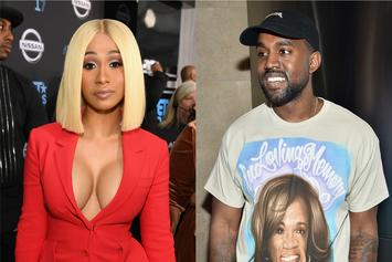 "Cardi B Is On Kanye West's Side, Defends Him From ""Falling Off"" Comments"