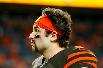 Browns' Baker Mayfield Roasted For His Post-Game Outfit After Latest Loss