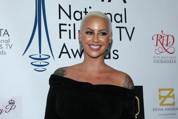 Amber Rose Shares Video Of Newborn Son Slash Electric Breastfeeding