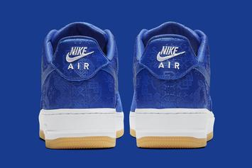 """Clot x Nike Air Force 1 Low """"Blue"""" Release Date Revealed: Official Photos"""