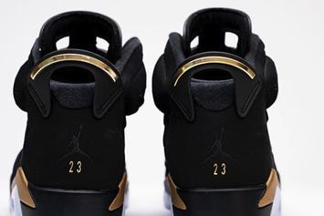 "Air Jordan 6 ""DMP"" Coming Back Soon: Detailed On-Foot Photos"