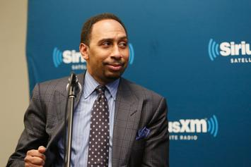 Stephen A. Smith Clowns The Cowboys In Front Of Military Members: Watch