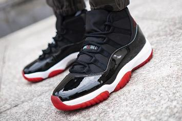 """Air Jordan 11 """"Bred"""" Release Date Officially Confirmed: Detailed Look"""