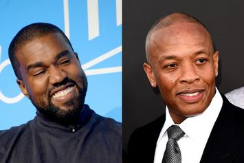 "Kanye West & Dr. Dre Link Up In The Studio: ""Jesus Is King Part II"""