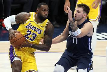 LeBron James Sends Love To Luka Doncic After Historic Night