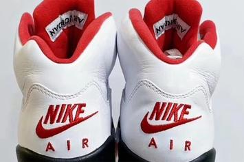 "Air Jordan 5 ""Fire Red"" Returns In 2020: First Look & Release Details"