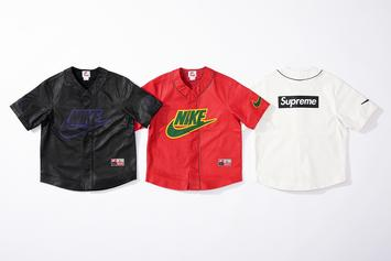 Supreme & Nike Link Up For Leather-Filled Fall 2019 Collection: Photos
