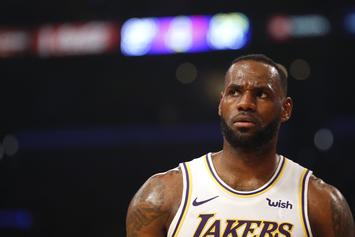 LeBron James Angrily Rips His Teammates For Jogging: Watch