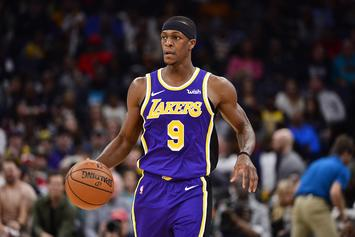 Rajon Rondo Roasted After Giving Luka Doncic A Lusty Look: Watch