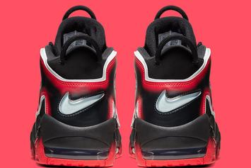 """Nike Air More Uptempo """"Laser Crimson"""" Coming Soon: Official Images"""