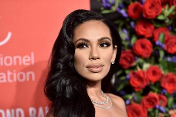 A Glowing Erica Mena Shares A Photo Of Her Baby Bump During Third Trimester
