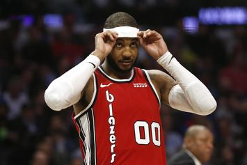 Carmelo Anthony Reveals What He Almost Did Before Blazers Deal