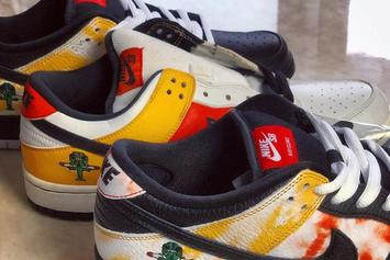 """Nike SB Dunk Low """"Raygun"""" Returns With Unique Tie-Dye Detailing: First Look"""