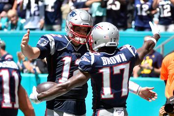 Antonio Brown Sends Loving Message To Tom Brady On Instagram