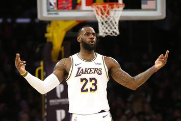 LeBron James Flexes His Dunking Ability On IG, Dwight Howard Reacts