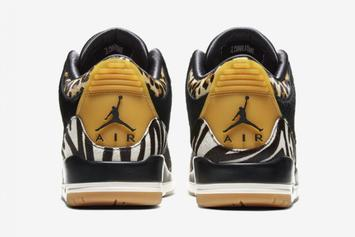 "Air Jordan 3 ""Animal Instinct"" Release Date Announced: Official Images"