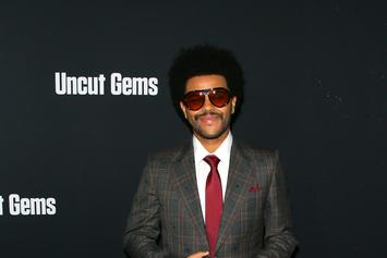 """The Weeknd Teleported From The 70s For """"Uncut Gems"""" Premiere: See His Look"""