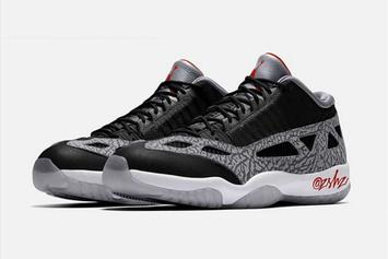 """Black Cement"" Air Jordan 11 Low IE Rumored For Next Year"